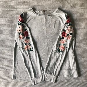 Target Embroidered Pull Over